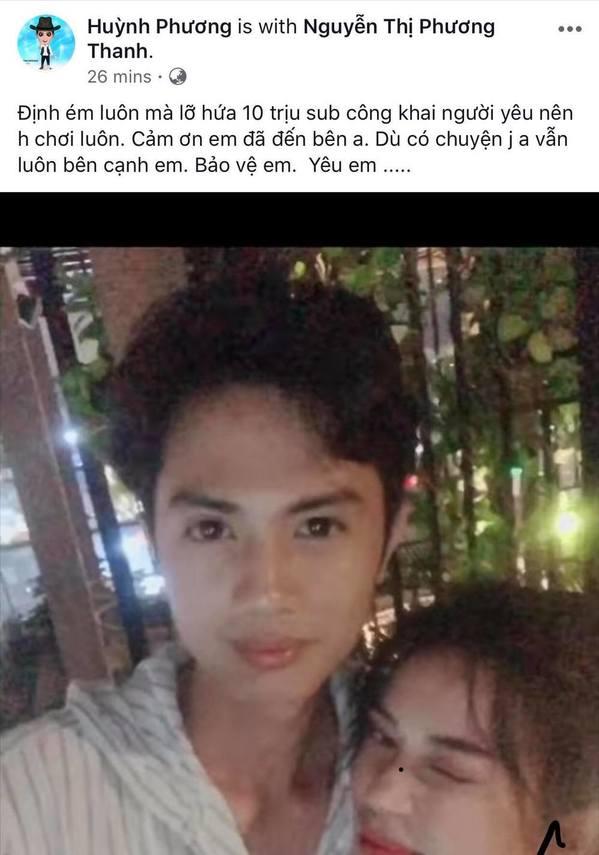 HOT: Huỳnh Phương FAPtv công khai hẹn hò Sĩ Thanh