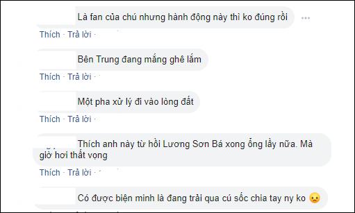 Cư dân mạng Việt lên tiếng trước việc làm của La Chí Tường.Ảnh: Chụp màn hình
