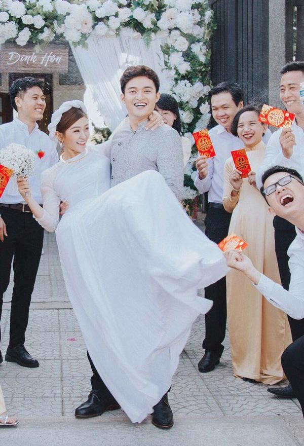 Cẩm Tú và nam chính Thiên Nguyện là cặp đôi duy nhất của chương trìnhtổ chức đám cưới cho tới hiện nay. (Ảnh: IG)