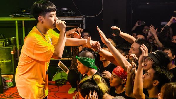 Wxrdie được cộng đồng yêu rap tin tưởng về tài năng - Ảnh Youtube
