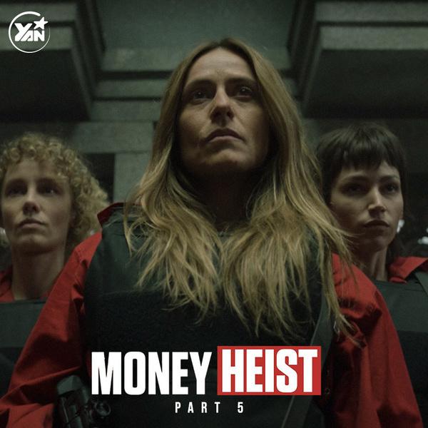 Kết thúc phần 5 của Money Heist với nhiều cảm xúc đan xen từ người xem.