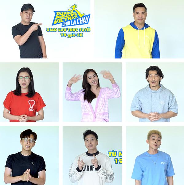 Dàn cast của Running Man Việt Nam mùa2. (Ảnh: Tư liệu chương trình)