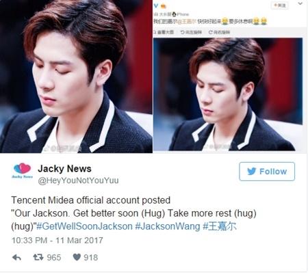 Fan xót xa khi thấy cảnh Jackson nôn khan và ngất xỉu tại fan meeting