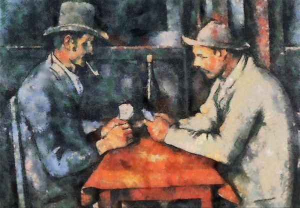 The Card Players.