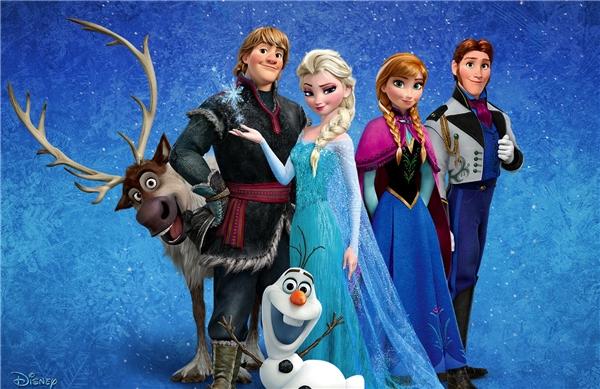 Bộ phim Frozengây bão ngay khi được ra mắt năm 2013.