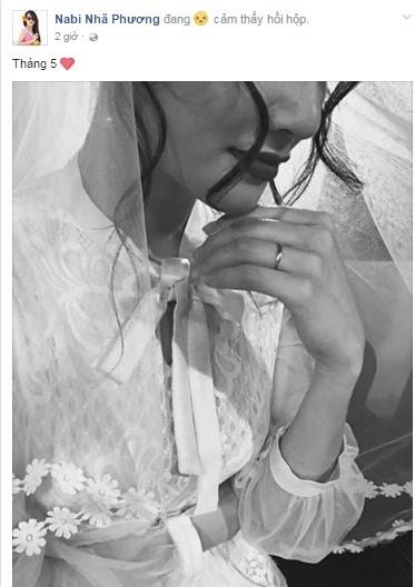 Bức ảnh Nhã Phương khoe trên fanpage chính thức của cô. - Tin sao Viet - Tin tuc sao Viet - Scandal sao Viet - Tin tuc cua Sao - Tin cua Sao