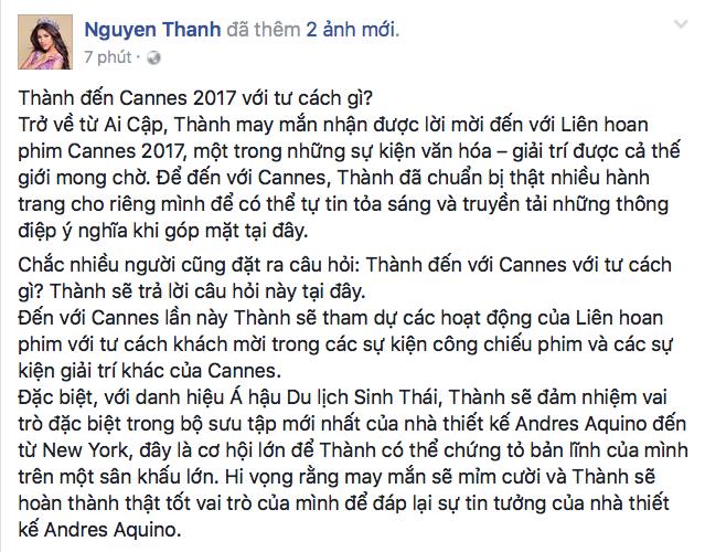 Dòng chia sẻ của Nguyễn Thị Thành - Tin sao Viet - Tin tuc sao Viet - Scandal sao Viet - Tin tuc cua Sao - Tin cua Sao