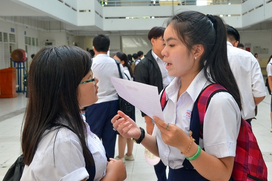 Đã có điểm chuẩn chính thức vào lớp 10 công lập tại TP HCM