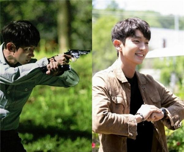 Lee Jun Kicực ngầu trong hình ảnh một cảnh sát điều tra thông minh, tài giỏi.