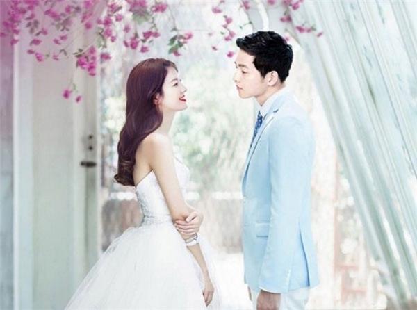 Xôn xao trước bộ ảnh cưới đẹp như mơ của Song Joong Ki - Song Hye Kyo