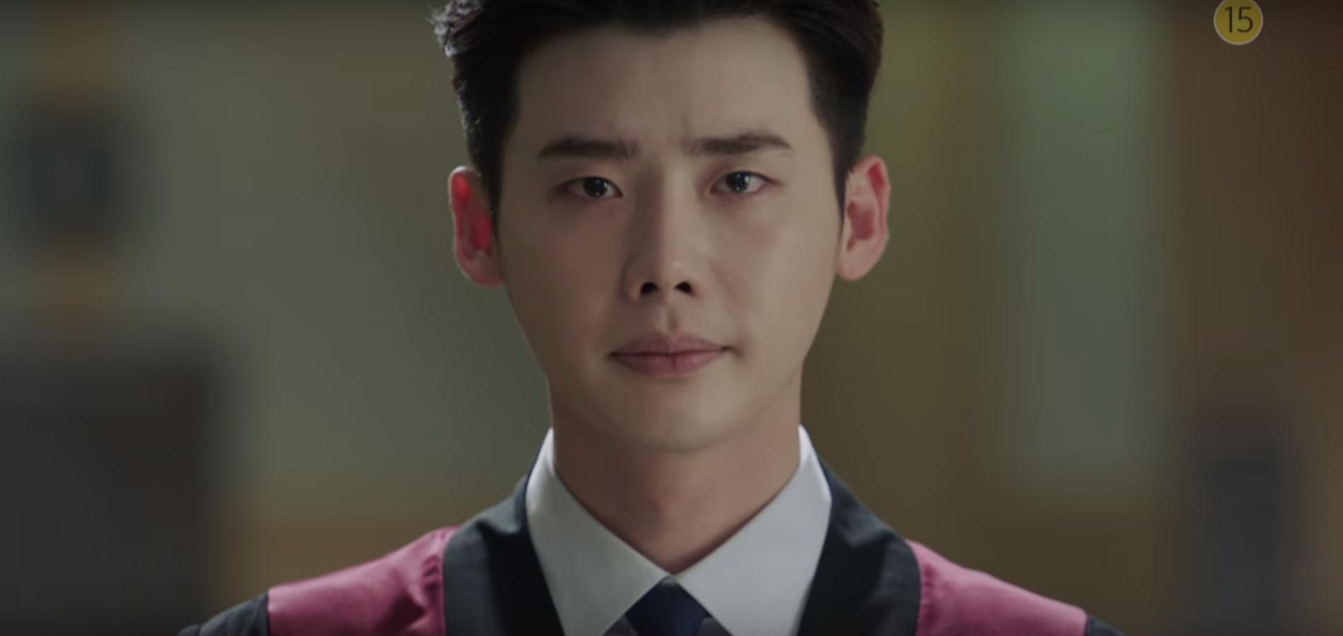 Trong bộ phim, Lee Jong Suk hoá thân thành chàng công tố viên điển trai, chính trực.