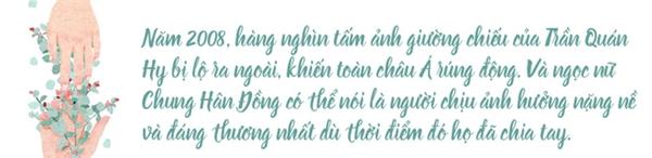 """Chung Hân Đồng: """"lấm bùn"""" từ scandal ảnh nóng, cuộc đời mãi lận đận chỉ vì một chữ tình"""