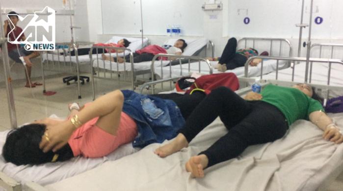 Các công nhân ngay lập tức được đưa vào bệnh viện