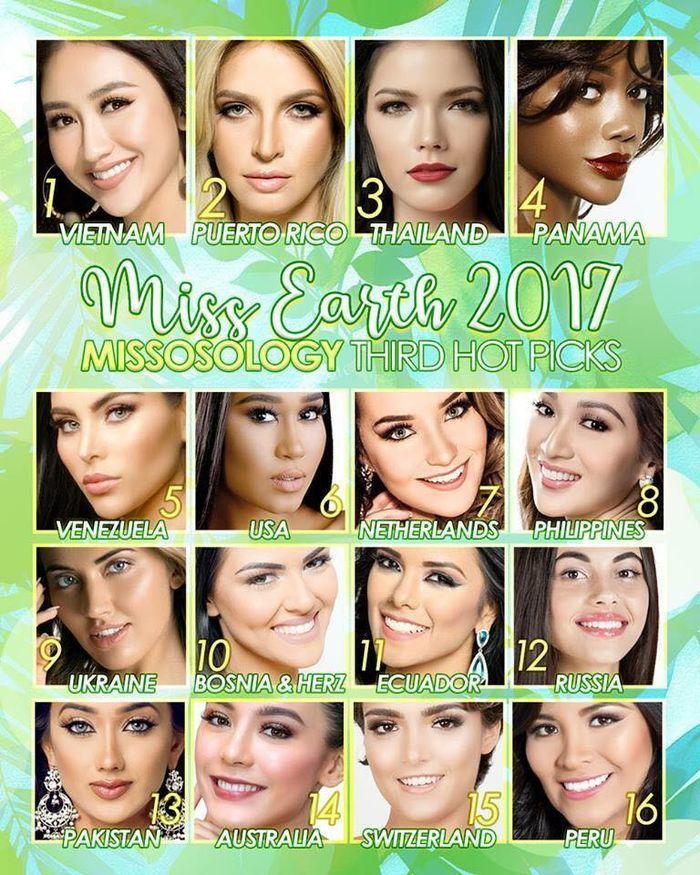 Trước thềm chung kết Miss Earth 2017, đại diện Việt Nam