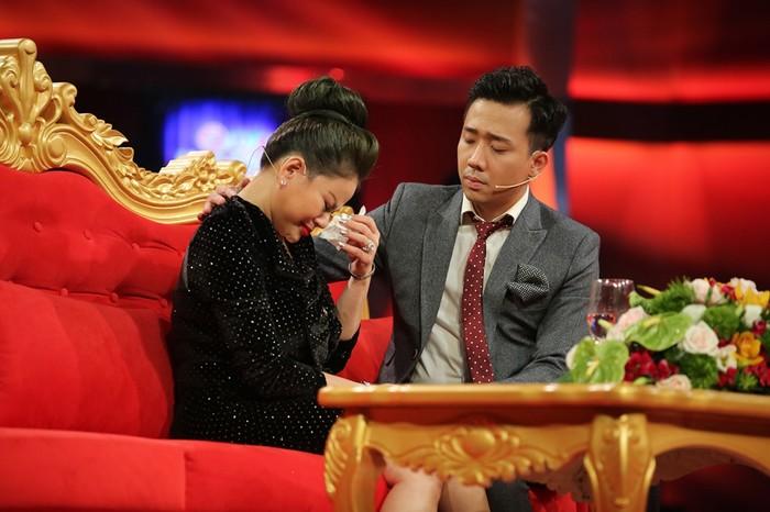 Nghệ sĩ hài Lê Giang khóc nức nở hé lộ lý do phải