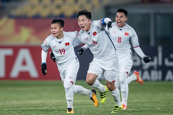 Quang Hải và các đồng đội đang là tâm điểm của không chỉ giới truyền thông trong nước sau màn thể hiện tuyệt vời ở những trận đấu đã qua trong khuôn khổ VCK U23 châu Á 2018.