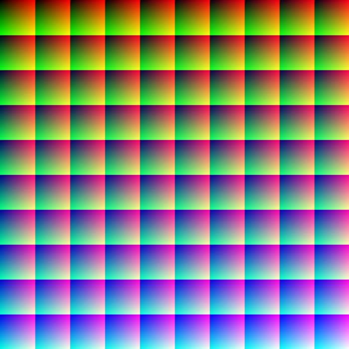 Có thể bạn không tin, nhưng bức ảnh này có sự hiện diện của đúng 1 triệu màu khác nhau. Phải, 1 triệu đấy!