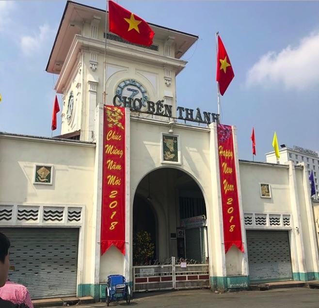 Sài Gòn những ngày đầu năm ai cũng thích vì vắng vẻ nhưng khách du lịch lại
