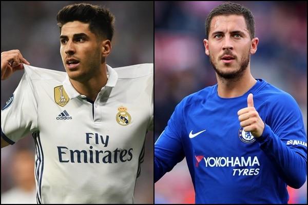 Real Madrid muốn đổi Asensio lấy Hazard.