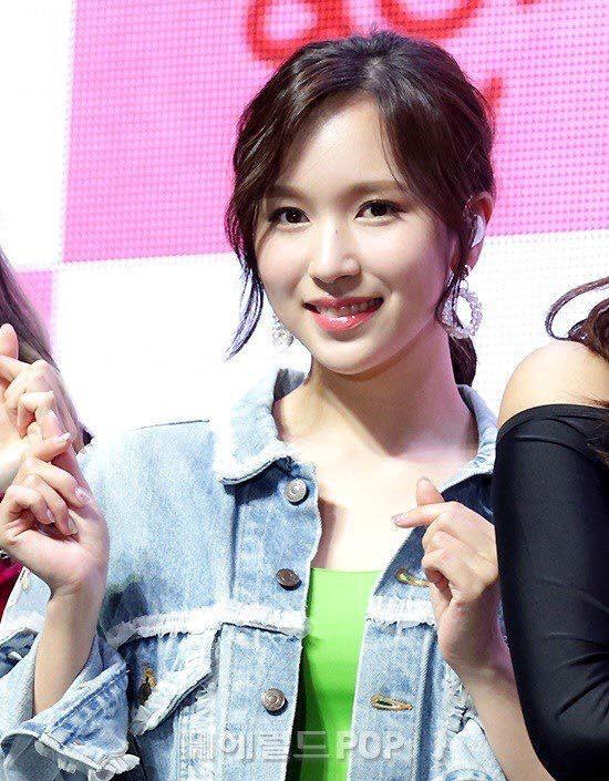 Mina càng ngày càng xinh đẹp, quyến rũ.