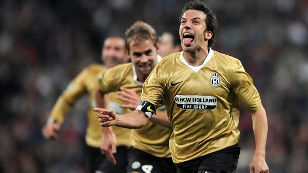 """Alessandro Del Piero là một trong những siêu sao """"hiếm hoi"""" không bị các Madridista ghét khi ghi bàn vào lưới Real Madrid."""