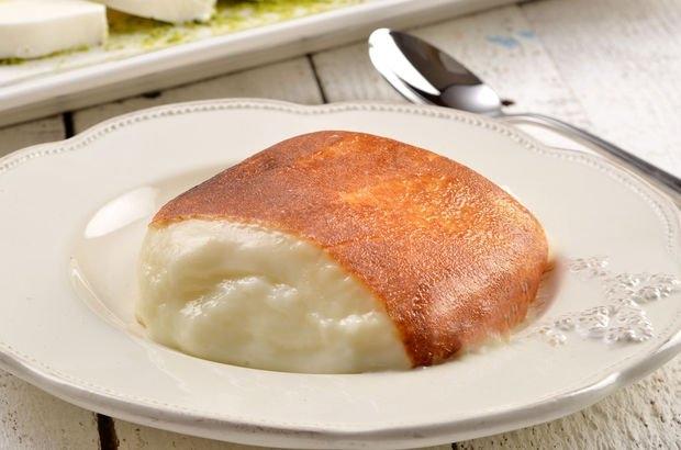 """Nhìn chất pudding trắng nõn bên trong vàng cháy bên ngoài làm """"kiềm lòng"""" không được"""