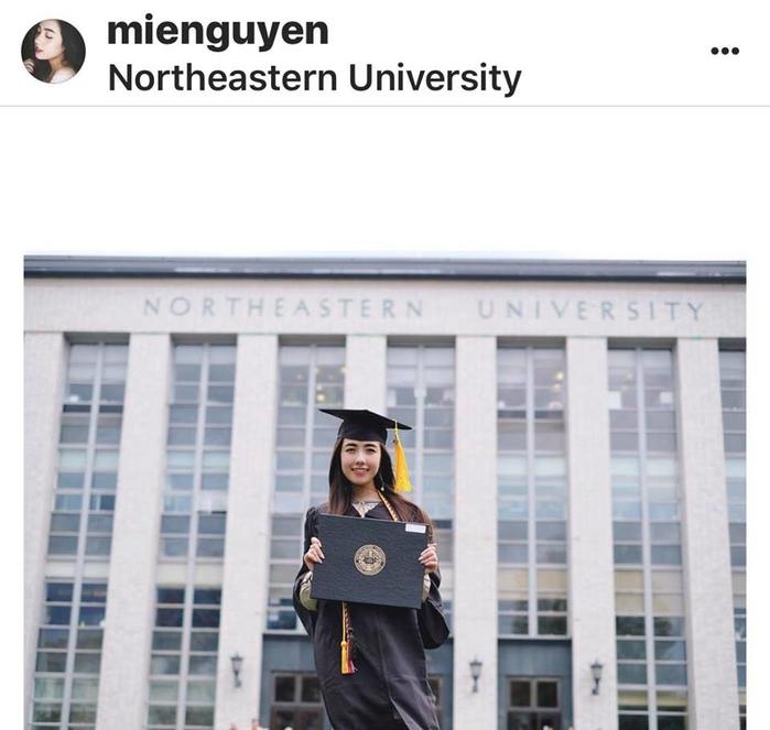 Mie Nguyễn giờ đây chính thức trở thành 1 trong những hot girl có bằng tốt nghiệp giỏi nhất tại Mỹ