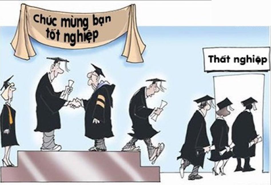 200.000 nghìn sinh viên thất nghiệp, chuyện tưởng đùa mà là thật