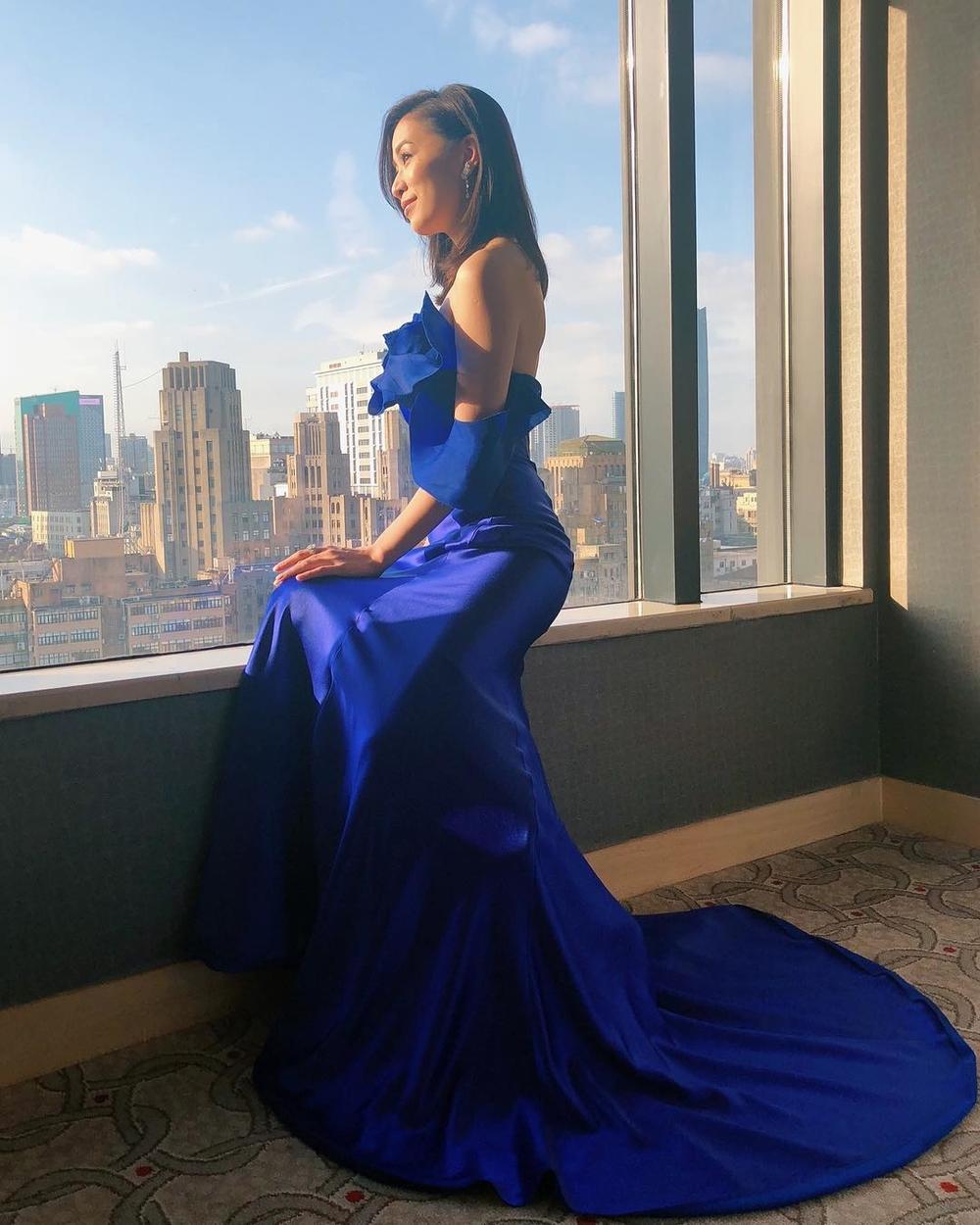 Chiêm ngưỡng nhan sắc đã bước qua tuổi U50 của diễn viên TVB Xa Thi Mạn