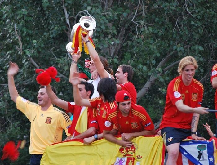 Tây Ban Nha lên ngôi vô địch Euro 2008.