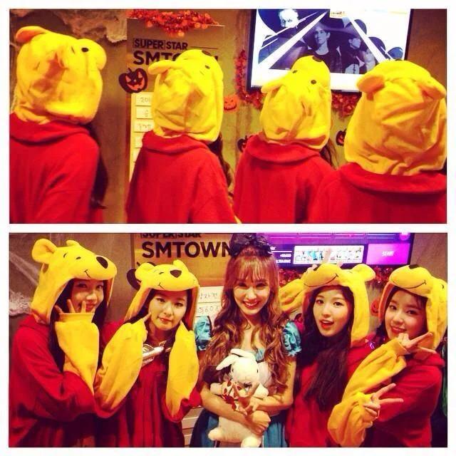 Phản ứng của Tiffany khi thấy Red Velvet cover