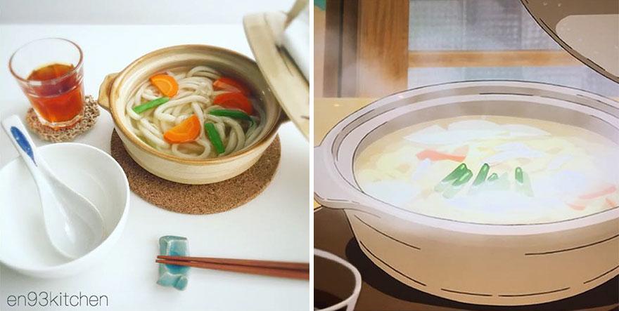 Những món ăn trong phim hoạt hình nổi tiếng của Nhật được hiện thực hóa khiến bạn thèm thuồng