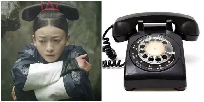 """""""Ngụy Anh Lạc"""" của Ngô Cẩn Ngôn thậm chí còn chọc cười khán giả sâu sắc hơn với kiểu tóc có khác mấy với cái điện thoại quay số của thế kỷ trước đâu."""