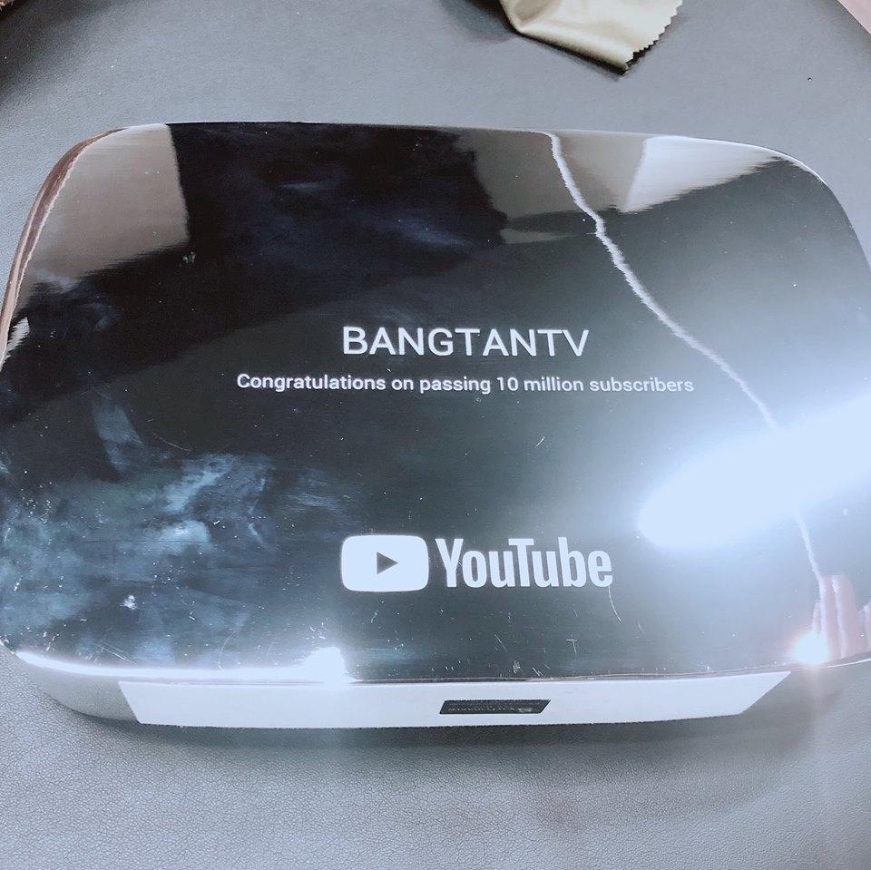 Chúc mừng BANGTANTV đạt được 10 triệu lượt theo dõi