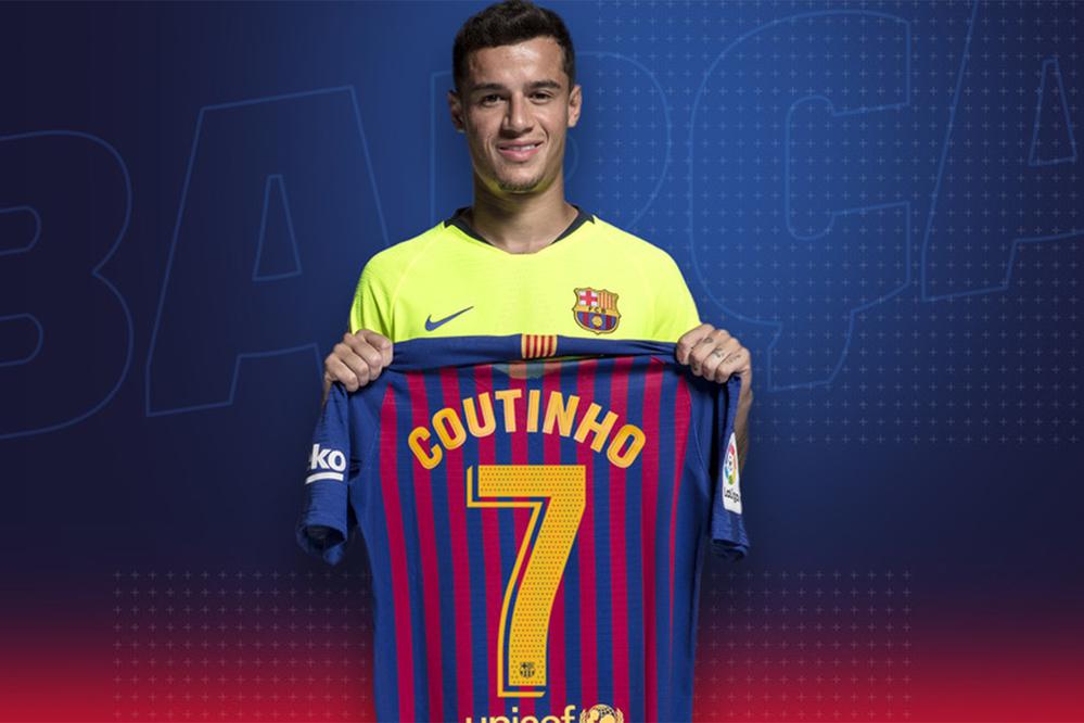 Coutinho sẽ chính thức khoác áo số 7 từ mùa giải mới.