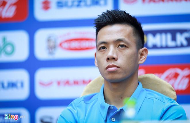 Đội trưởng Văn Quyết tỏ ra rất quyết tâm trước giải đấu. (Ảnh: Zing.vn)