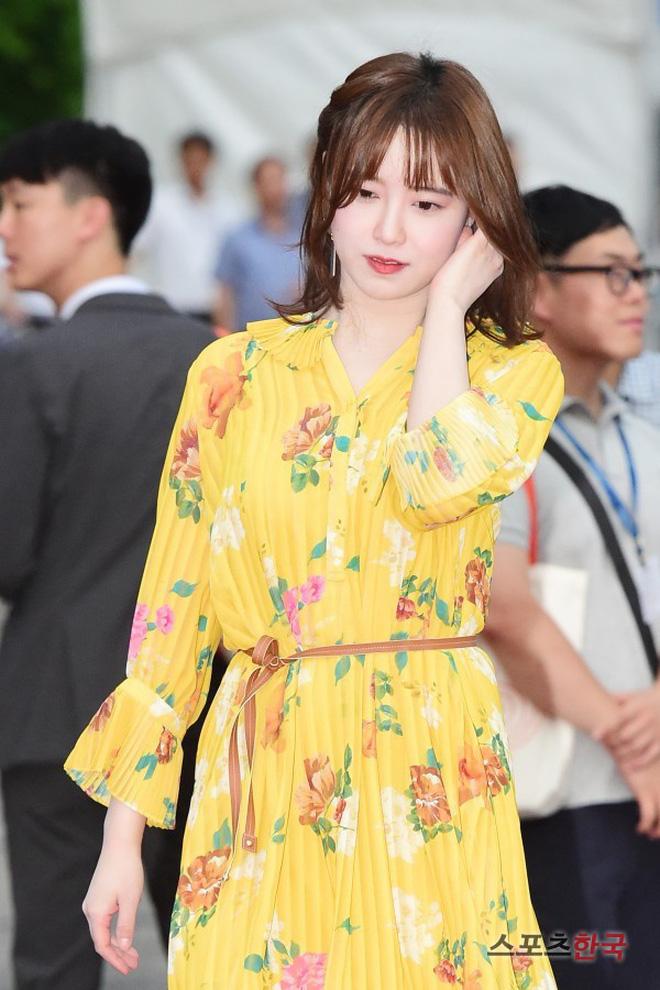 Goo Hye Sun đã tập lặn thường xuyên để có lại được vóc dáng cân đối này.