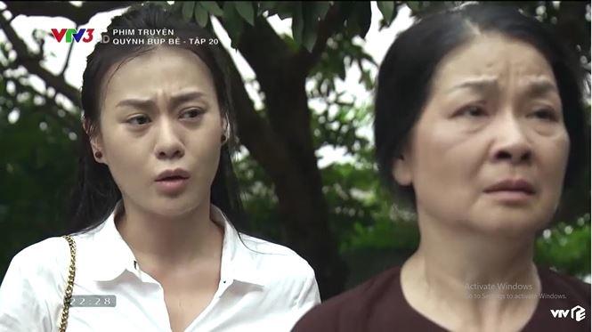 Quỳnh Búp Bê: Cảnh chết thê thảm, Quỳnh hoang mang vì mất dấu tìm con