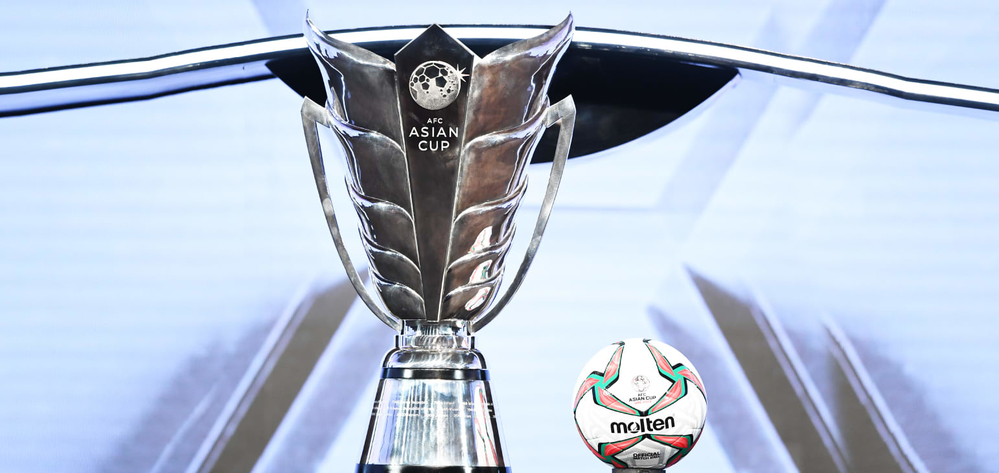 Chiếc cup mới tại Asian Cup 2019.