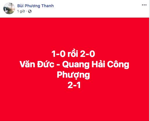 Tên của các cầu thủ ghi bàn chính là những người hùng được nghệ sĩ Việt nhắc nhiều nhất trong đêm. - Tin sao Viet - Tin tuc sao Viet - Scandal sao Viet - Tin tuc cua Sao - Tin cua Sao
