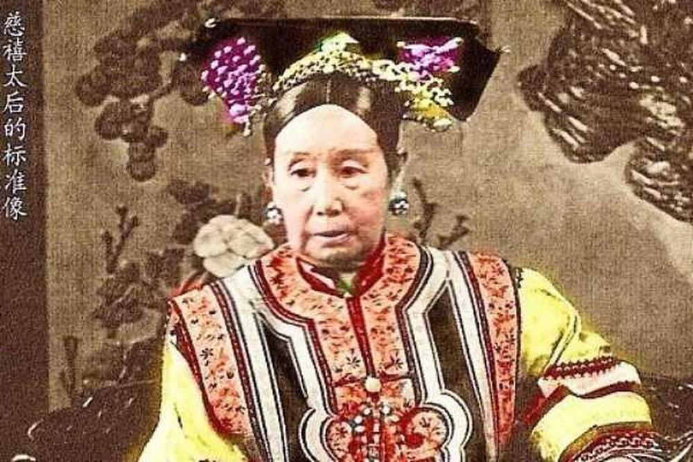 Chân dung Từ Hy Thái hậu trong lịch sử.