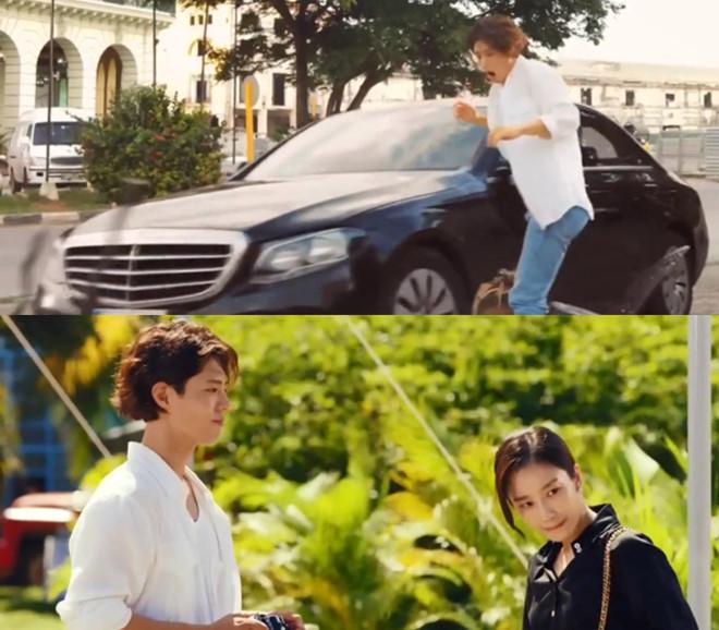 Suýt chết nhưng Jin Hyuk lại tỏ ra khá tốt bụng khi chẳng thèm trách móc hay đòiCha Soo Hyun bồi thường chiếc máy ảnh kỉ niệm bị hư hỏng nặng.