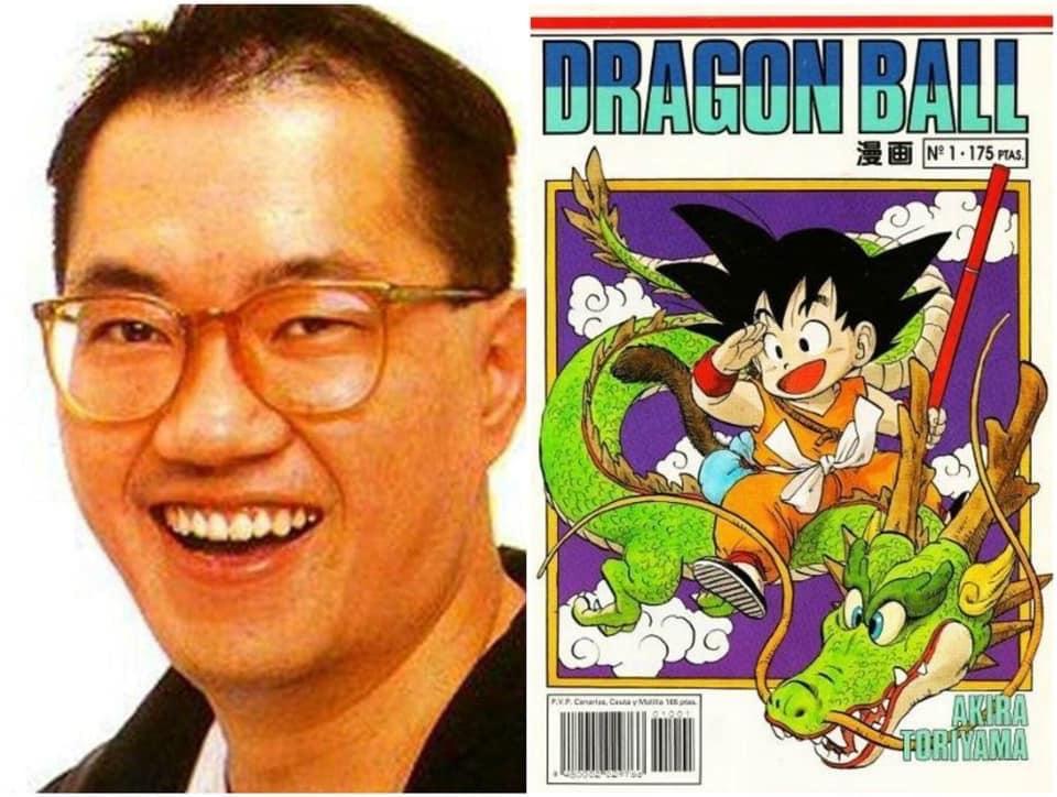 """Không ai không biết đến bộ truyện gắn liền với tuổi thơ 8X, đầu 9X """"Bảy Viên Ngọc Rồng"""", nhưng có thể đây là lần đầu bạn thấy rõ mặt tác giả bộ truyệnToriyama Akira. Ông sinh năm 1955 tại Aichi, Nhật Bản. Bên cạnh Bảy Viên Ngọc Rồng,Dr. Slump cũng là bộ truyện tranh khác khá thành công của ông."""