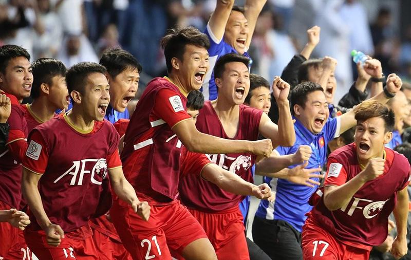 Hàng ngàn người Hàn phấn khích xem trận VN - Jordan, khen hấp dẫn hơn cả Ngoại hạng Anh