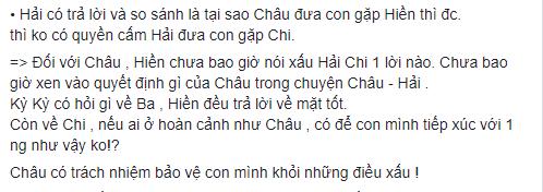 Đoạn chia sẻ Lý Phương Châu có nói mối quan hệ tốt đẹp và xử sự rất tốtcủa bạn trai mình với con gái. - Tin sao Viet - Tin tuc sao Viet - Scandal sao Viet - Tin tuc cua Sao - Tin cua Sao