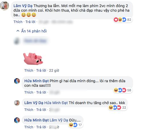 Bình luận của Lâm Vỹ Dạ chia sẻ cùng chồng mình nhận được ủng hộ của CĐM.