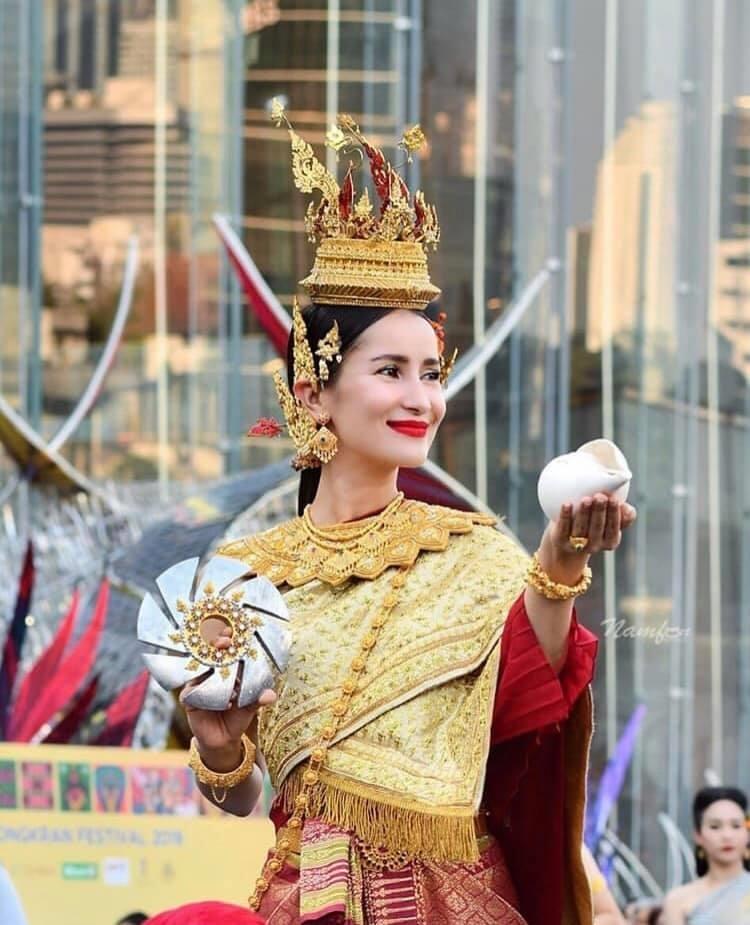 Những nữ thần Songkran đẹp nhất lễ hội năm nay: Ai cũng đẹp như tiên nữ