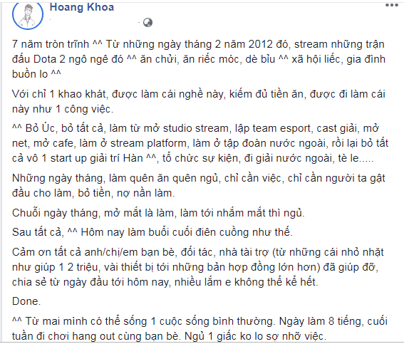 Pewpew tu gia nghiep steamer, MisThy tiet lo moi quan hẹ that voi anh