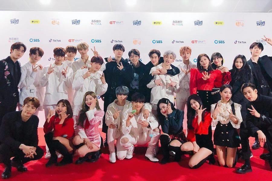 Đại gia đình JYP Entertainment.