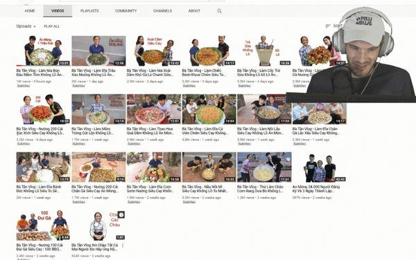 """PewDiePie ca ngợi """"Bà Tân Vlog"""" là một kênh phát triển minh bạch, tự nhiên và không phạm luật mua subscribe."""